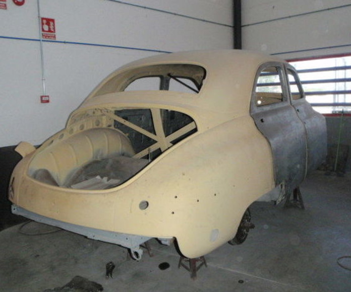 Restauración de vehículo Packard Madrid
