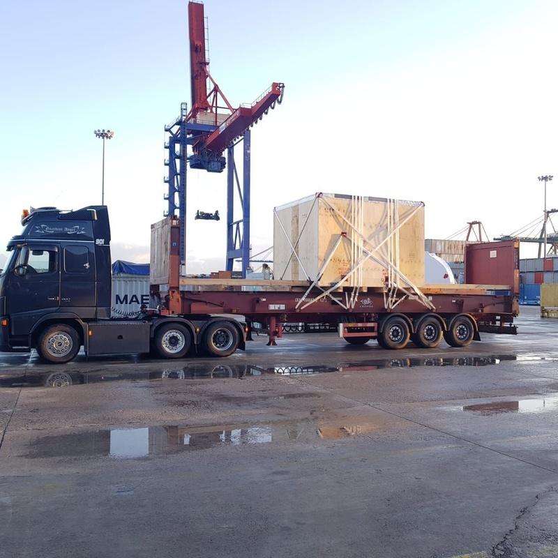 Plataformas extensibles porta-contenedores: Servicios de Transportes Biotrans Garraioak