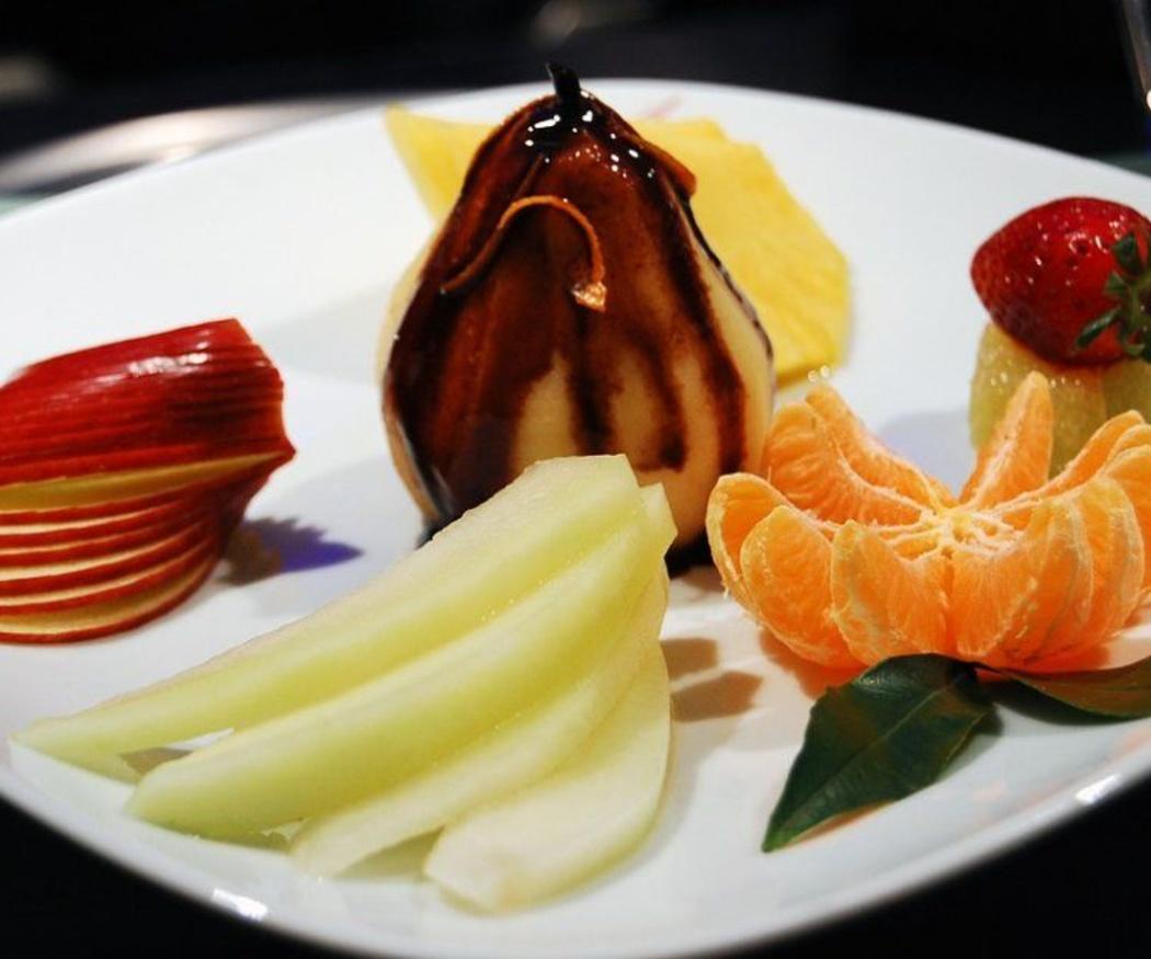 Chocolate y fruta: la combinación perfecta