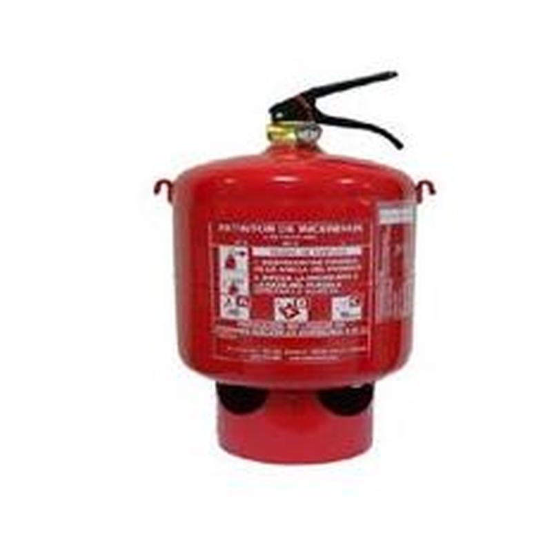 Extintor Automático de Polvo 6Kg: Servicios de Allintegra, S.L.