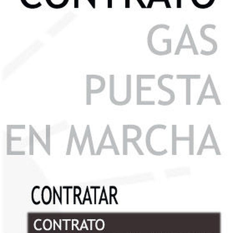 Contrato de Gas puesta en marcha: Tienda online y servicios de Servicio Tecnico Urueña, S.L.