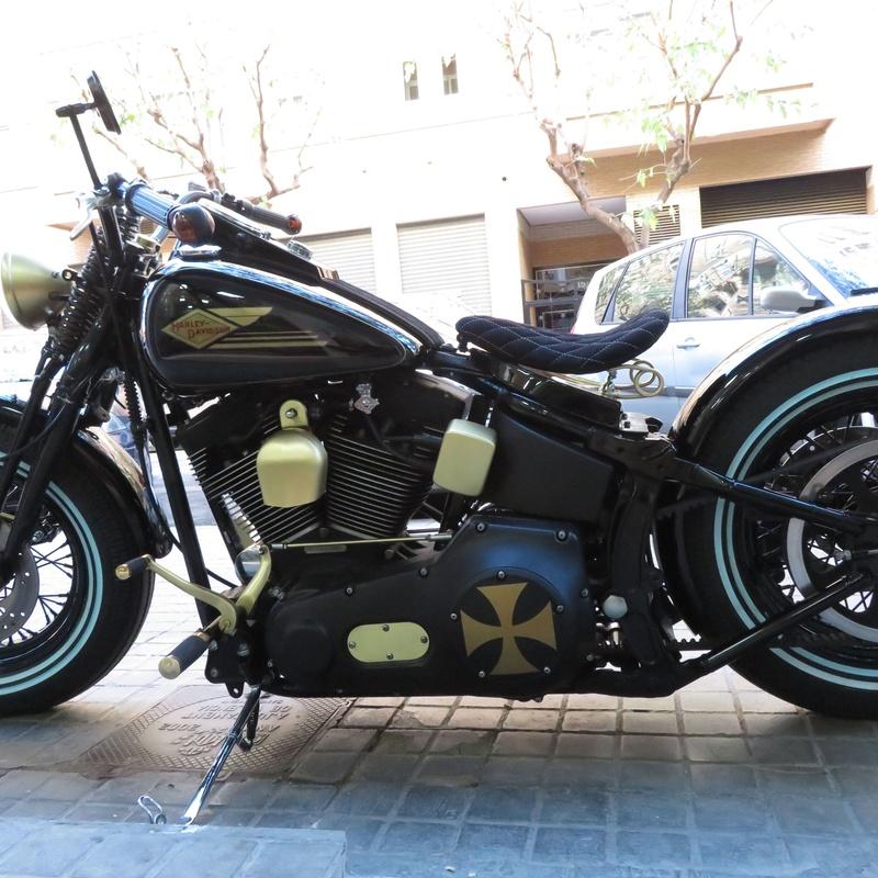 #harleydavidson #bobbers #choppers #softail #custom #motoscustomvalencia