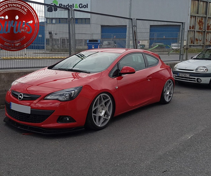 Opel Astra GTC - Air suspension