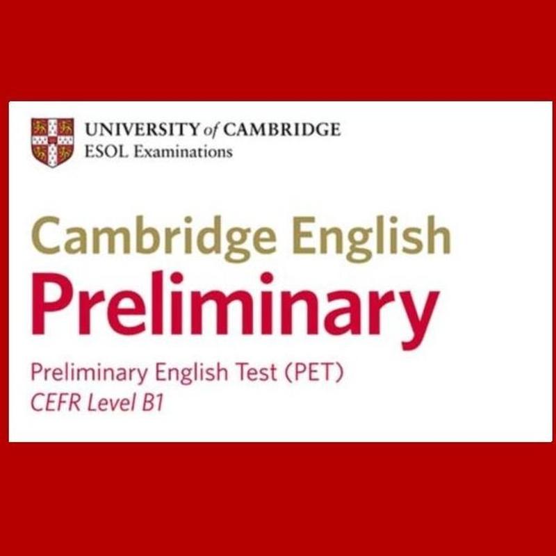 ENGLISH FOR PET EXAM.                                    CAMBRIDGE NIVEL B1: Cursos de Oxford School of English