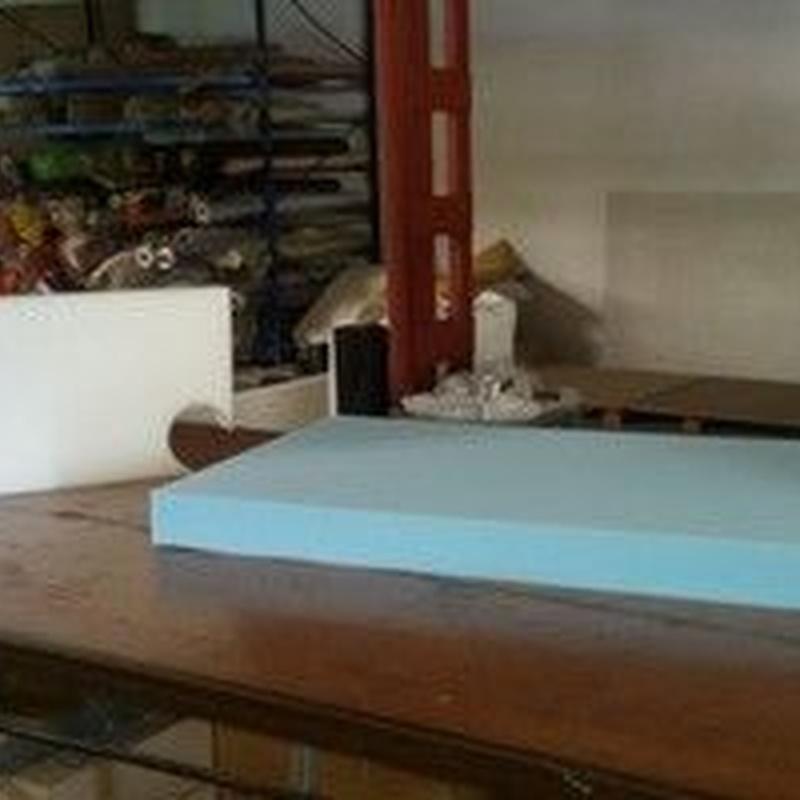 Corte de espuma: Servicios de Tapivar