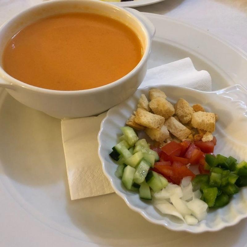 Primeros platos fríos: Carta de Tabula Calda