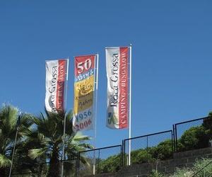 Banderas personalizadas: Banderas Aluco