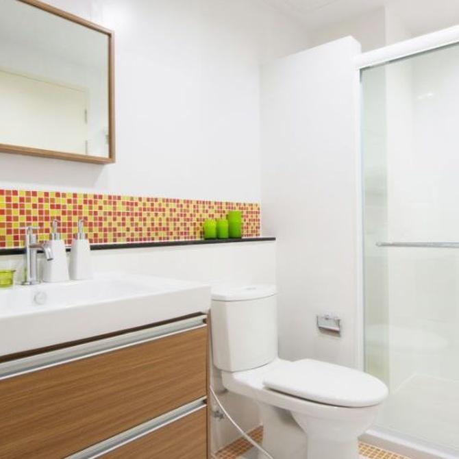 Ideas para reformar baños pequeños