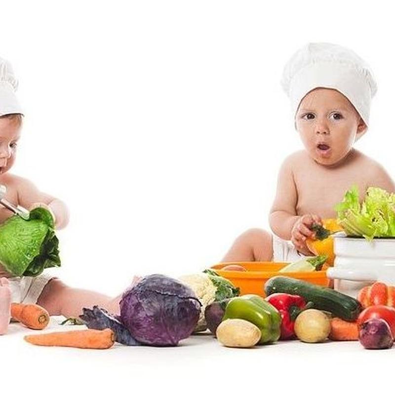 Menú Alimentación Saludable: Servicios  de Escuela Infantil Menuts