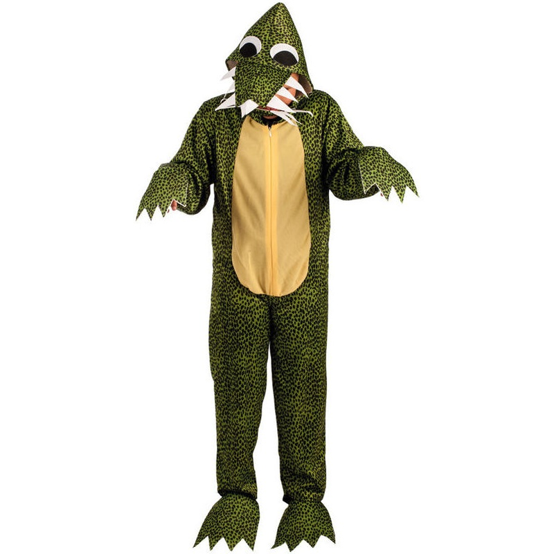 Disfraz cocodrilo/dinosaurio