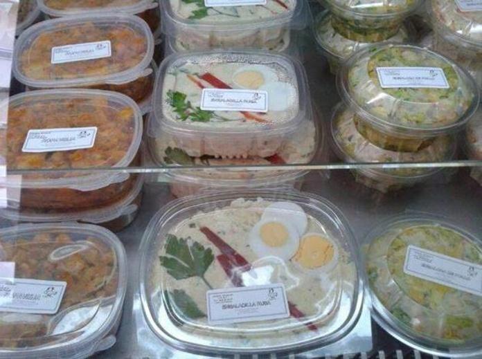 Comidas de elaboración propia: Pollo asado y comida casera de Asadero de pollos Jerusalén
