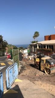 Obras en las calles del sur de nuestra isla