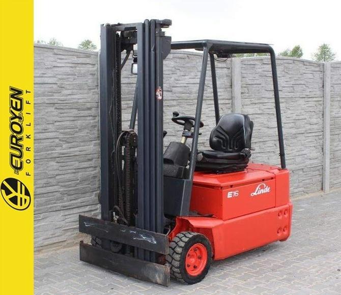 Carretilla eléctrica LINDE Nº 6149: Productos y servicios de Comercial Euroyen, S. L.