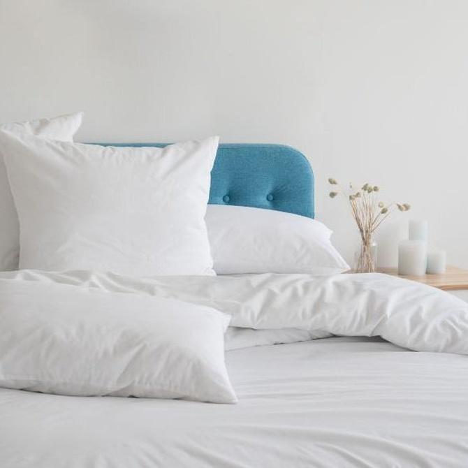 ¿Almohadas finas?