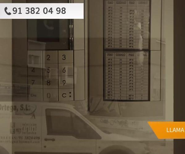 Videoporteros automáticos en Hortaleza, Madrid: Orgaz Ortega