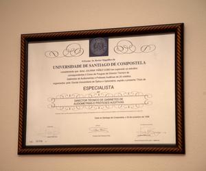 Júlia Yáñez Cobo, audiometrías y prótesis auditivas en Tomelloso