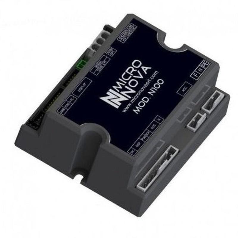 Tarjeta de control MICRONOVA PN100_A01 para estufas de pellets