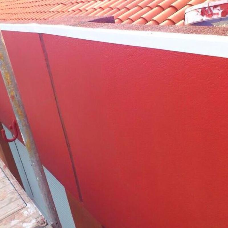 Reparación e impermeabilización de muro con junta de dilatación Santander.