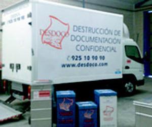 Destruir documentación en Aranjuez | Desdoco