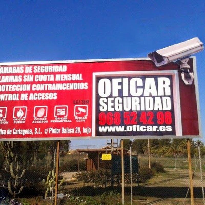 SISTEMAS DE SEGURIDAD: Productos y servicios de Ofimática de Cartagena