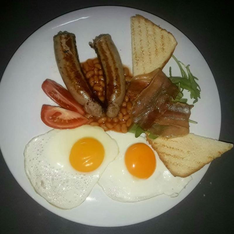 English Breakfast: Carta de Cocoriba Lounge Bar