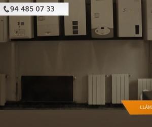 Instalación de calefacción Bizkaia