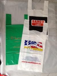 Bolsa asa camiseta: Productos de Plásticos Yolanda