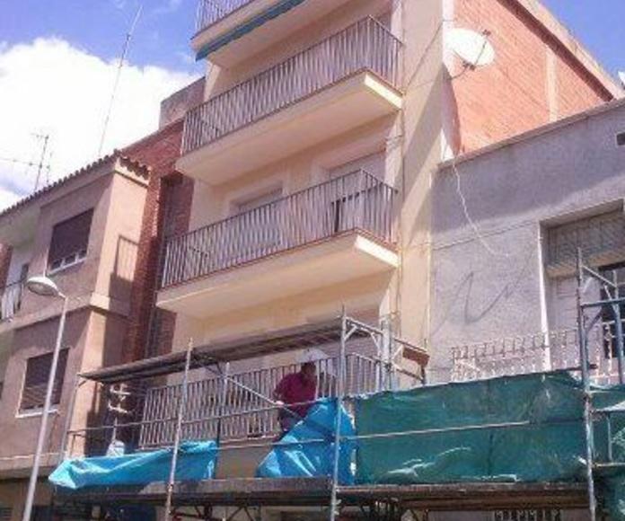 Empresa de rehabilitación de fachadas en Mollet del Vallés