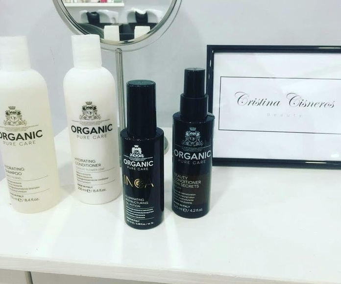 Wellnes hydrating Organic Pure Care: Servicios de Salón Cristina Cisneros