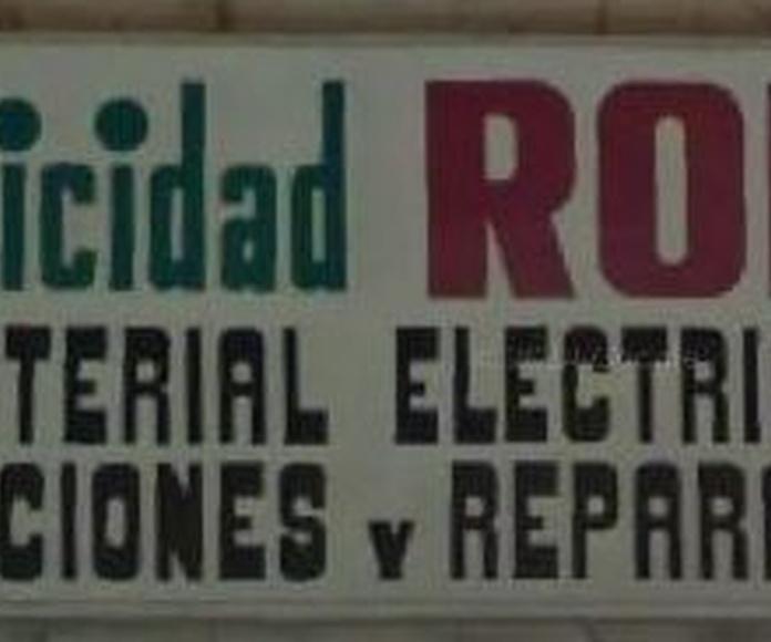 Material eléctrico Zaragoza