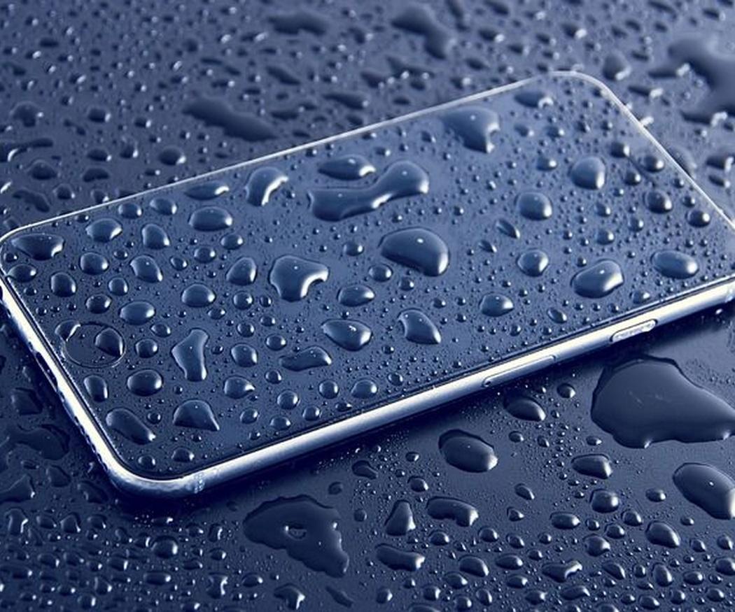 La humedad y los móviles