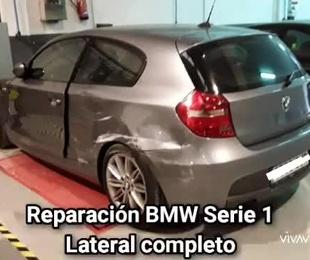 REPARACION LATERAL BMW SERIE 1