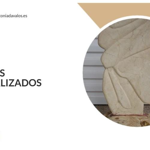 Esculturas de piedras semipreciosas Barrio de Salamanca   Antonia Dávalos