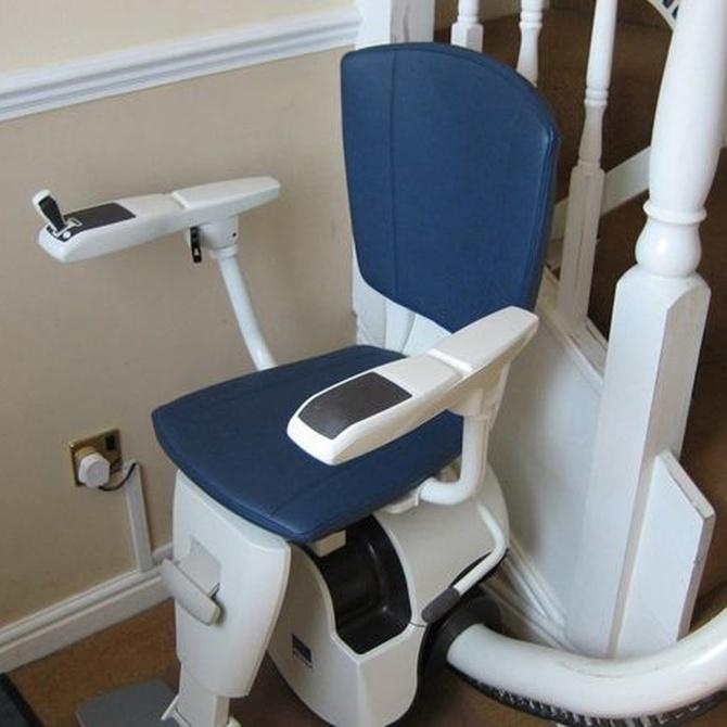 Las sillas salvaescaleras