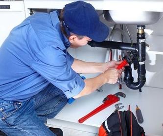 Detección y localización de fugas con máquinas de última generación: servicios de urgencias  de Mantenimientos Jara
