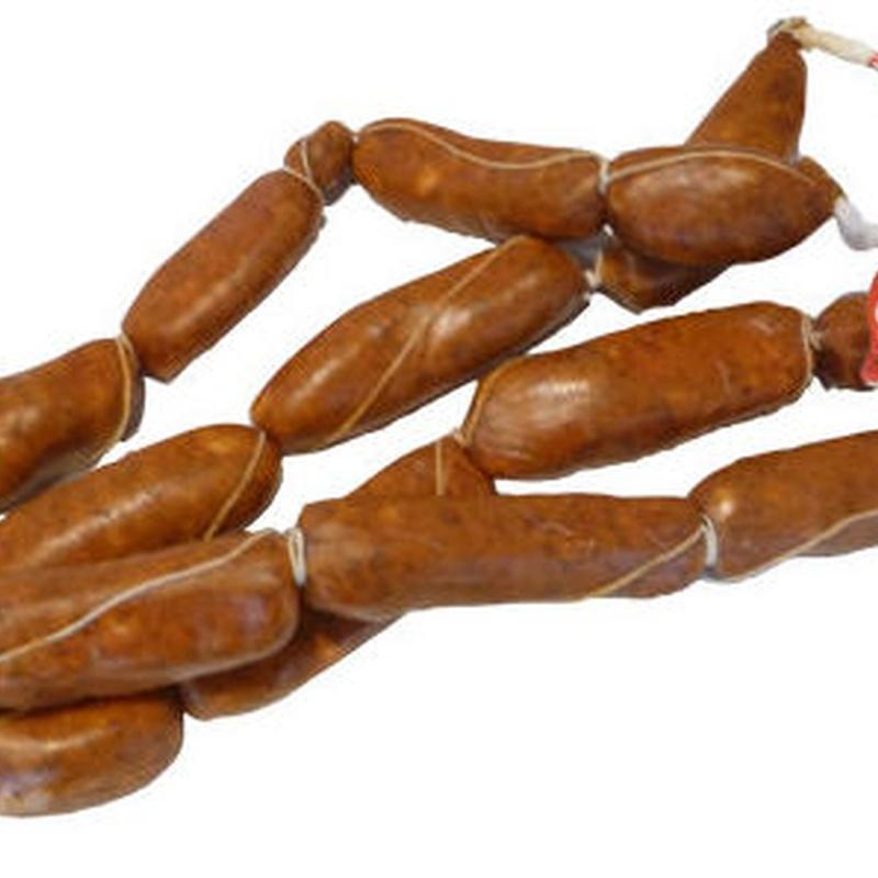 Chorizos frescos: Productos de Hermanos González