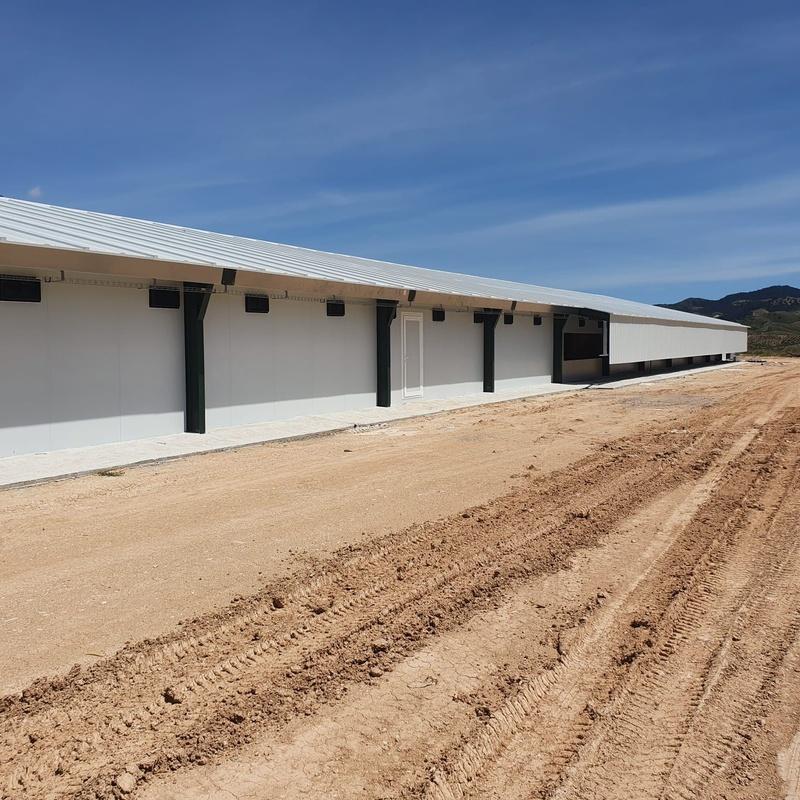 Nave avícola Velez-Rubio (Almeria): Servicios de Servicios Inoxidables Albacete