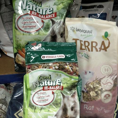 Alimentación para roedores
