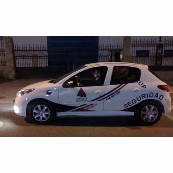 Patrulla en vehículo: Servicios de Asergrup Seguridad