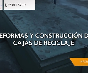 Venta de contenedores en Valencia: Servicios Integrales Santeva