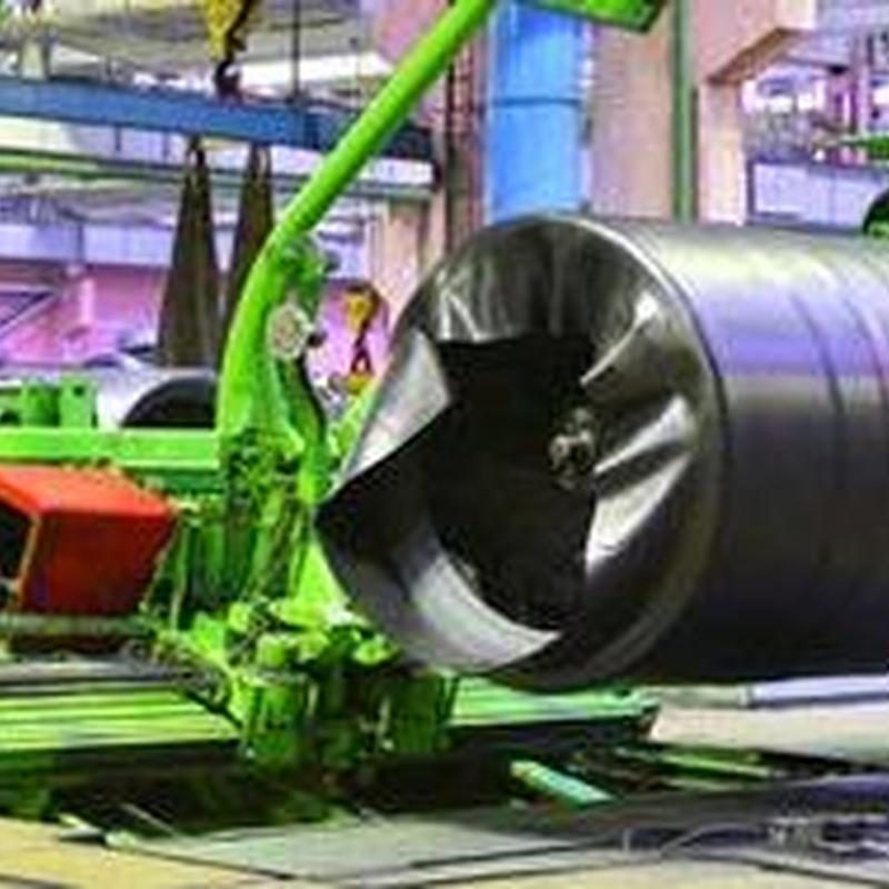 Montaje y desmontaje de maquinaria industrial: Servicios de Serbusa, S.L.