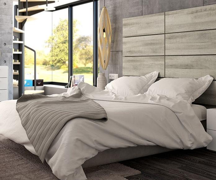 Dormitorios de matrimonio de estilo contemporáneo: CATÁLOGO DE MUEBLES de Merysan Muebles
