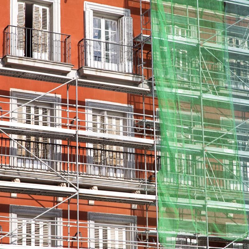 Rehabilitación de fachadas: Servicios de Reformas Rueda