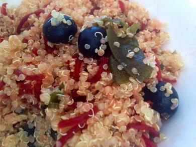 Receta vegana a base de Quinoa