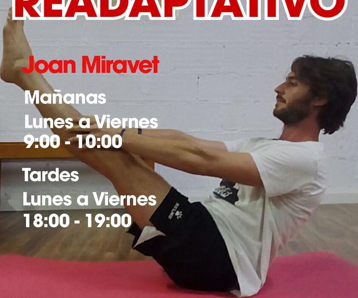 Clases de Pilates Readaptativo
