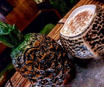 Fuerte: Cócteles de Aloha Polinesian Bar
