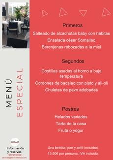 Restaurante Somallao Rivas Menú Especial 18 al 24 de Agosto de 2021