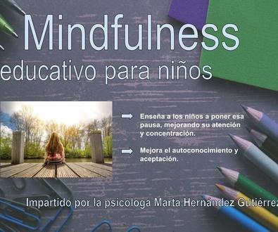 TALLER DE MINDFULNESS PARA NIÑOS Y PARA PADRES