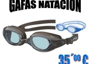 Gafas natación graduadas