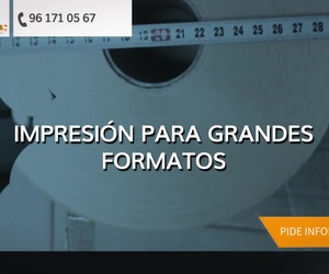 Imprenta digital en Valencia: Grafimar